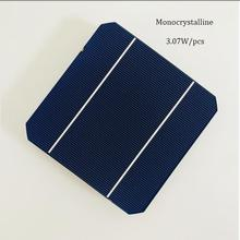 DIY solar panel kits 10pcs monocrystalline solar cells 5x5 high effencicy with 5m tabbing wire 1m buss wire and 1pcs Flux pen
