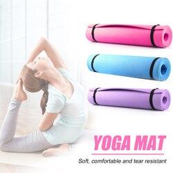 4/6 мм толщиной коврики для йоги EVA для любых целей, Non-Slip окружающей среды Коврик для упражнений Фитнес гимнастики складной упражнения колодк...