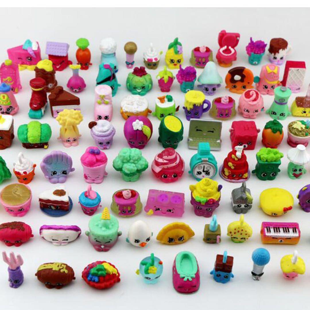 Оптовая продажа мультфильм дети игрушки Kawaii Shopkines детская милая кукла Кэнди аксессуары вещей образование детей девочек играть собирать под...