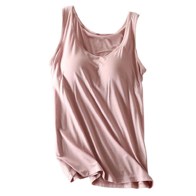 Новинка, спортивная одежда из хлопка, женские топы, жилет большого размера для груди, Цельный Бюстгальтер, чашка с бюстгальтером, тонкая руб...