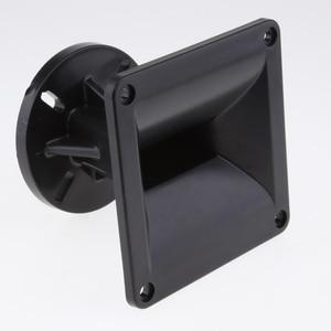 Image 5 - Altavoz de plástico negro de 2 piezas, bocina guía de ondas, largo alcance y amplio ángulo de dispersión, pinzas de 120x120mm