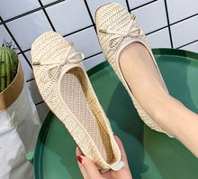 Summer Women Flat Shoes Soft Casual Loafers Female Ballet Flats Sweet Cut Out Slip On Breathable Ladies Footwear