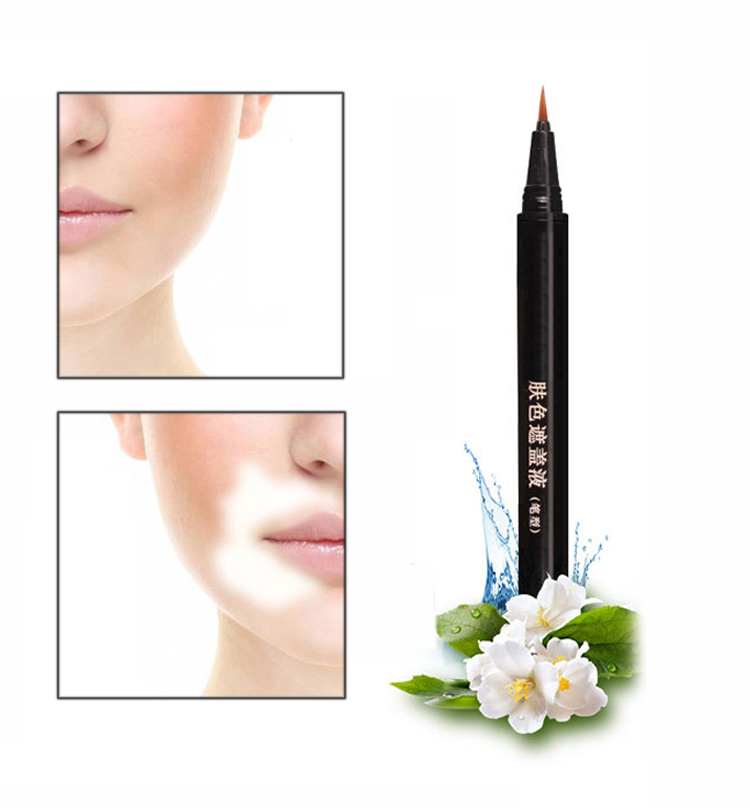 Waterproof Concealer Stick White Spot Concealer Pen Skin Blemish Concealer Cream External Use For Hand Face Melanin Concealing  HS11