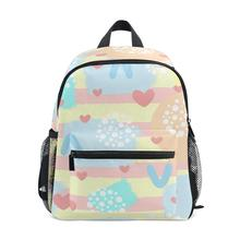 Backpack Fashion schoolbag  Simple pattern Printing ALAZA Womens Small for Girl Kids Ladie Mini Backpacks Cute Lightweight Bags