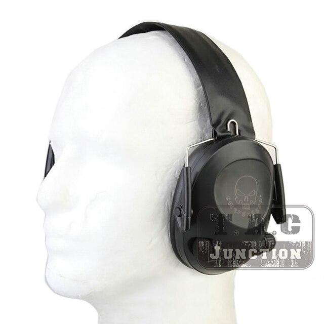 Emerson tir Protection auditive cache-oreilles Sport tactique Peltor 6S Protection pliante casque électronique avec 4 * piles AAA