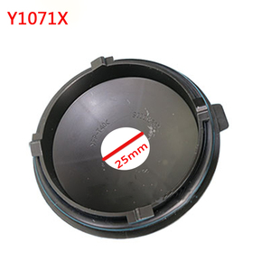Image 3 - 1 pc for skoda superb Headlamp dust cover waterproof cap Xenon lamp LED bulb extension dust cover Bulb trim panel Lamp shell