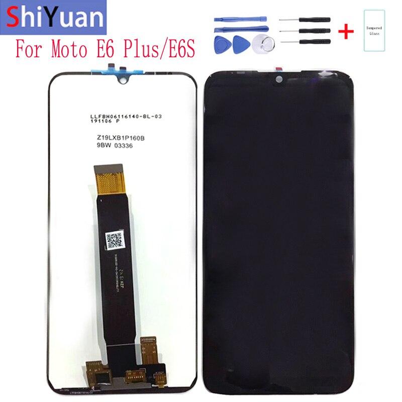 "Original 6.1"" LCD screen For Motorola Moto E6 Plus ,For Motorola Moto E6s E6+ PAGA0004 LCD screen with Digitizer Touch"