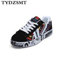 TYDZSMT baskets pour femme, chaussures dété imprimées, chaussures plates vulcanisées, collection 2020