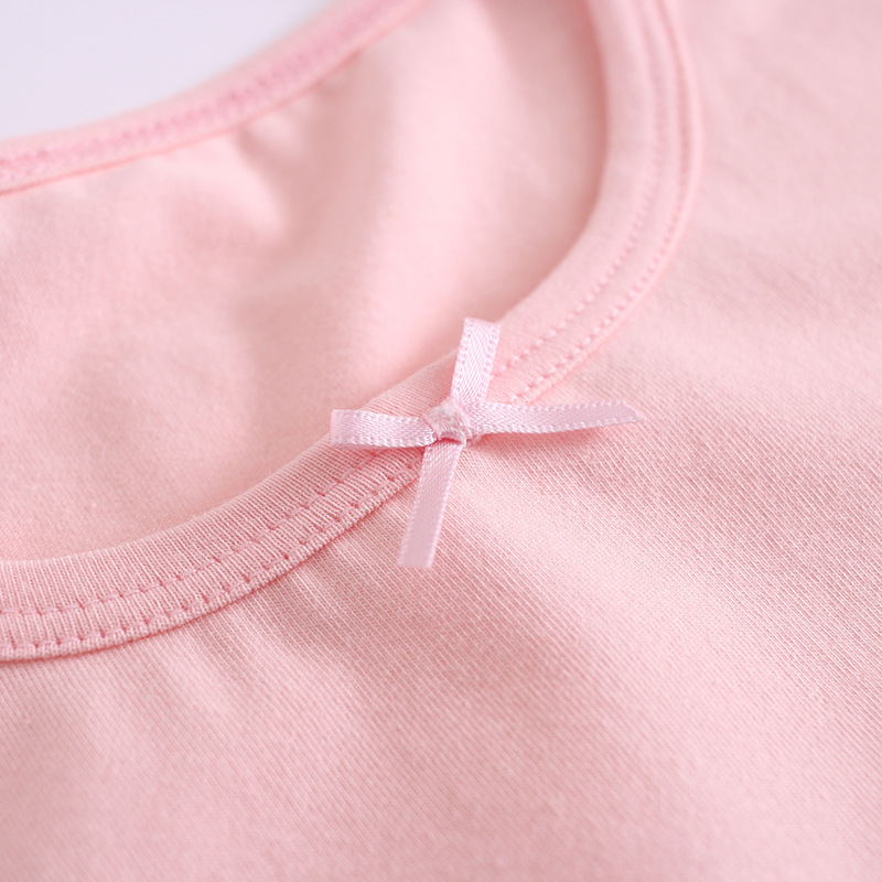 A Class Cotton CHILDREN'S Short-sleeved Clothes Tracksuit Air Conditioning Clothes BAMAQIN 2018 Amoi Baby Girls Pajamas Nightgow