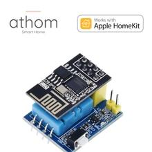 Athom pré flash homekit dht11 módulo sensor de umidade temperatura esp8266 wi fi nodemcu casa inteligente iot