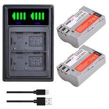 2X EN-EL3e EN EL3E EL3 Battery + LED Dual USB Charger for Nikon D50, D70, D70s, D80, D90, D100, D200, D300, D300S, D700 Camera