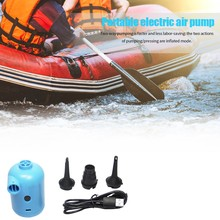 Electric Air Pump USB Connector Inflatable Boat Inflatable Bed Inflatable Sofa Car Inflatable Buoy
