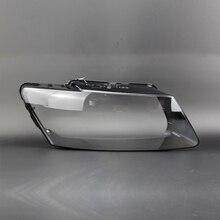 Q5 прозрачный корпус фар объектив стеклянная крышка абажур лампа защитный чехол оболочка Прозрачный для audi Q5