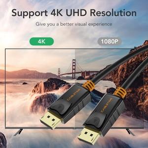 Image 3 - Cáp DisplayPort To DisplayPort 144Hz Màn Hình Cổng Cáp 1.2 4K 60Hz DP Vedio DisplayPort To DisplayPort Cáp HDTV máy Chiếu Máy Tính C071