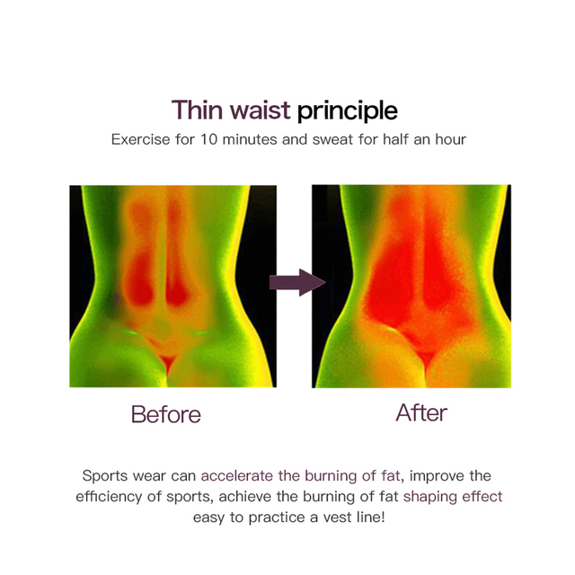 Women Slimming Waist Trainer Thermo Sweat Belt Tummy Control Body Shaper Belt Corset Shapewear Fat Burning Fitness Strap 4