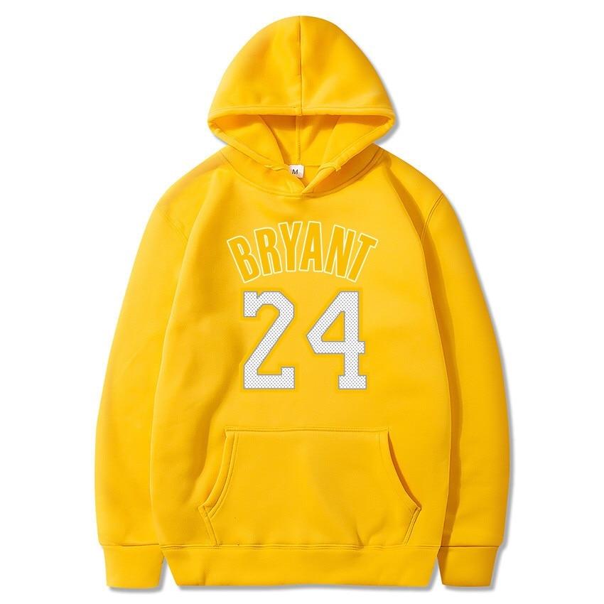 Kobe Bryant Hoodie Kobe Jersey 24 Black Mamba Hoodies New Man Sweatshirts Fashion Couple Cloth Unisex Hooded Sweatshirt