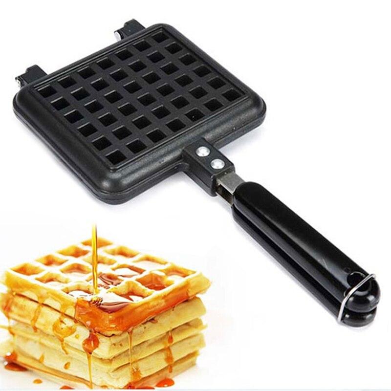 Electric Non-Stick Waffles Maker Sandwich Iron Machine Household Kitchen Gas Pan Bubble Egg Cake Oven Breakfast Machine