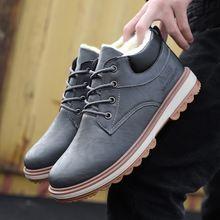 Ботинки martin Мужская модная обувь мужская с высоким берцем