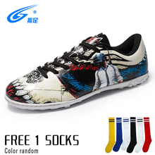 Children Football Shoes Turf Futsal Sneakers TF & Long Spikes Men Soccer Cleats Original Sports for