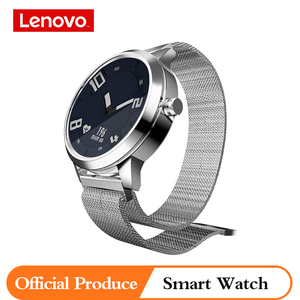 Image 1 - オリジナルレノボ時計 × 男性女性のスマートウォッチ 80 メートル防水心拍数血圧健康のためのxiaomiサムスン