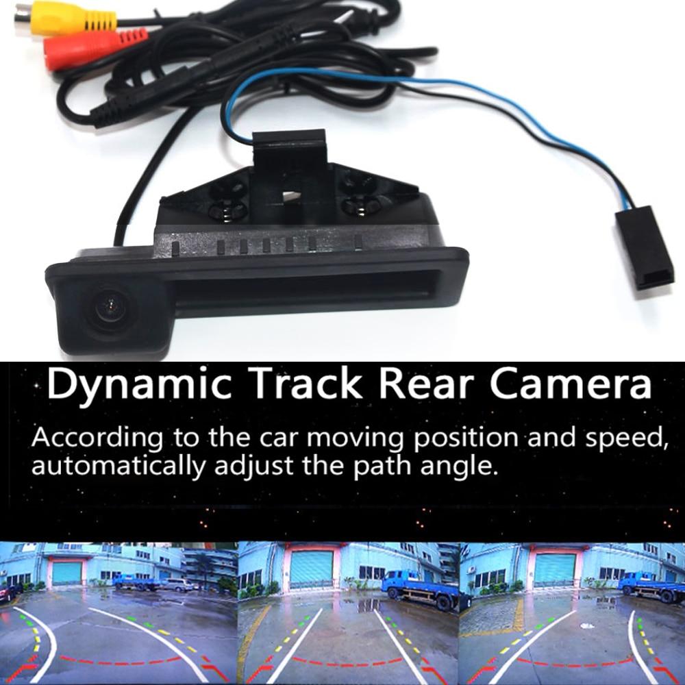 Автомобильная реверсивная камера заднего вида Камера для Bmw 3/5 серии X5 X1 X6 E39 E46 E53 E82 E88 E84 E90 E91 E92 E93 E60 E61 E70 E71 E72 резервного копирования