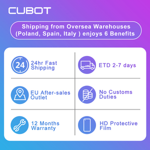 "Image 3 - Cubot J5 Smartphone 5.5"" 18:9 Full Screen MT6580 Quad Core Android 9.0 Telephone 2GB RAM 16GB ROM Phone Dual SIM Card 2800mAh 3G"