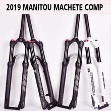 Bicycle Fork Manitou Machete Comp Marvel 27.5 29er size air Forks Mountain MTB Bike Fork suspension Oil and Gas Fork mosso carbon fork m5fcb bike fork 26 27 5 29er road mtb bicycle fork suspension front forks t700 hot selling 2018