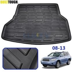 For Toyota Highlander Kluger XU40 2008 - 2013 Cargo Boot Tray Liner Rear Trunk Luggage Floor Mat Carpet 2009 2010 2011 2012
