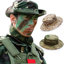 Hats Military-Accessories Boonie Airsoft Camouflage Bucket Army Sniper Panama Tactical