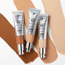 Face Concealer Foundation Face Makeup CC cream SPF50 sunscreen Makeup Base Liquid full coverage Concealer cream imagic base face liquid foundation cream full coverage concealer oil control easy to wear soft face makeup foundation with puff