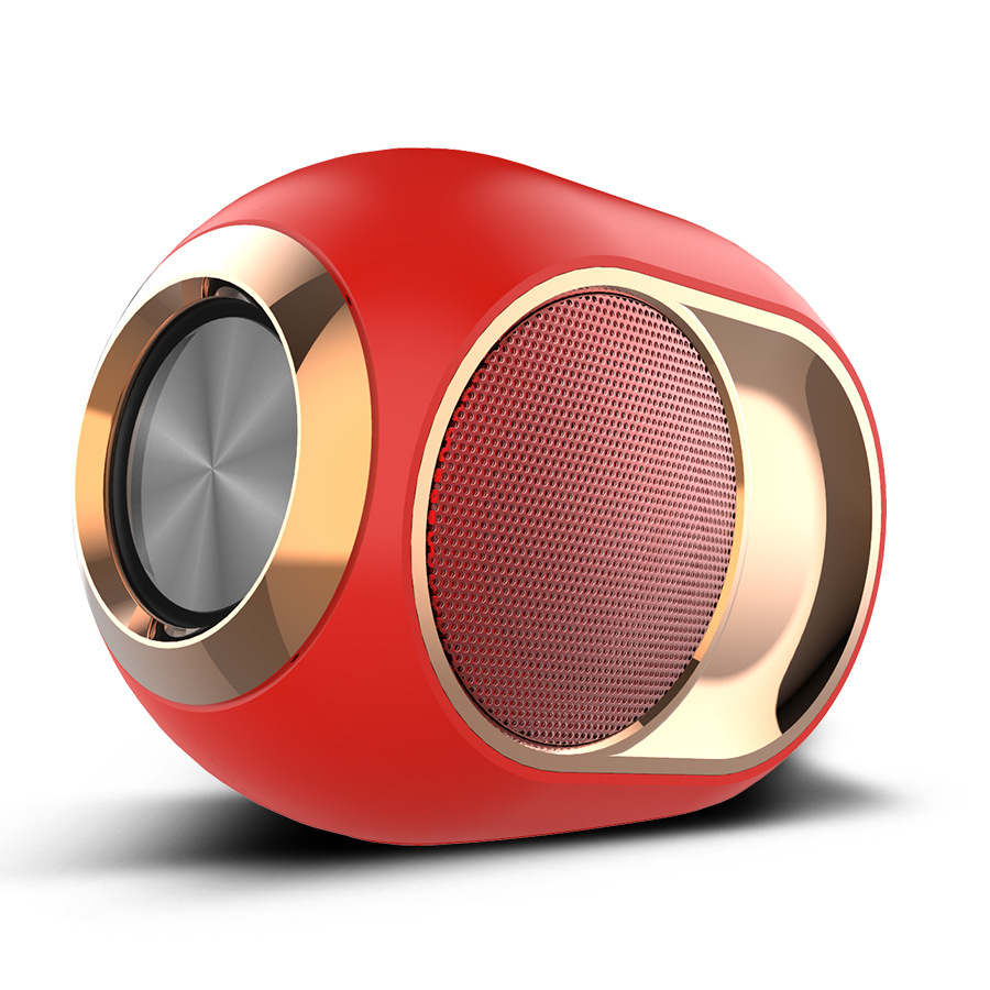 Stylish portable high-end Bluetooth speaker good quality audio wireless dual speakers 3