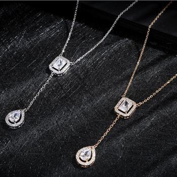 Cubic Zirconia Necklace Necklaces 6bcea75192f98cbedfb10e: Gold color|Gold color|Rose gold color|Rose gold color|White color|White color