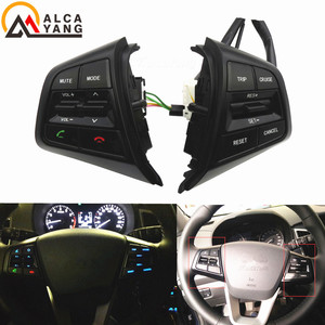 For Hyundai ix25 (creta) 1.6L Steering Wheel Cruise Control Buttons Remote Control Volume Switch car accessories /(China)