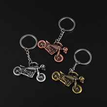 Hot Game PUBG Vehicles Motorcycle Model KeyChains Alloy Of High Quality Souvenir Jewelry For Game Lover Gifts Key Chain(China)