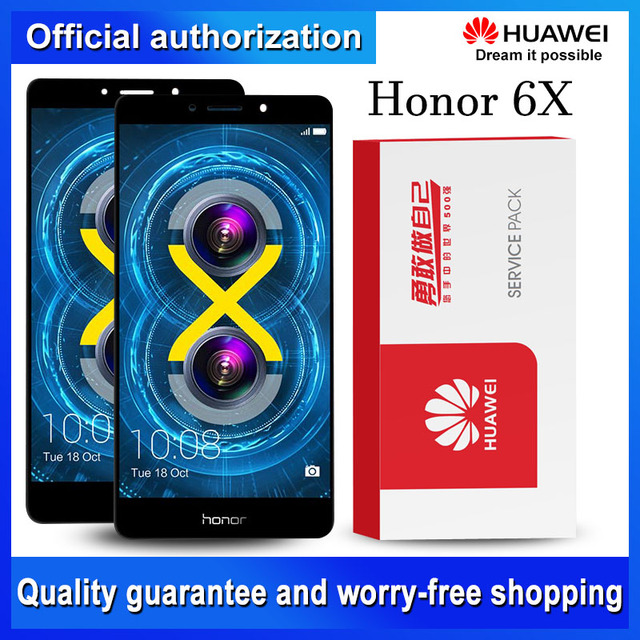 Original 5.5 Display Replacement For Huawei Honor 6X LCD Touch Screen Digitizer AssemblyBLN-L24 BLN-AL10 BLN-L21 BLN-L22 LCD