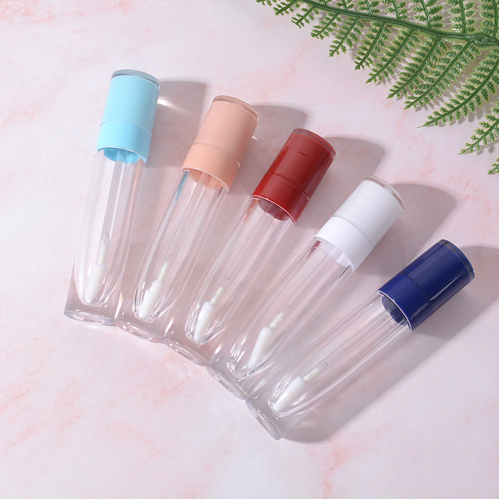 1 pièces 8ml brillant à lèvres Tubes clair vide conteneurs Mini rechargeable baume à lèvres bouteilles lèvres glaçure échantillons voyage maquillage à réaliser soi-même outils