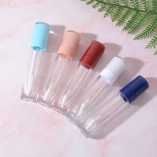 1pcs 8ml Lip Gloss Tubes Clear Empty Containers Mini Refillable Lip Balm Bottles Lip Glaze Samples Travel DIY Makeup Tools