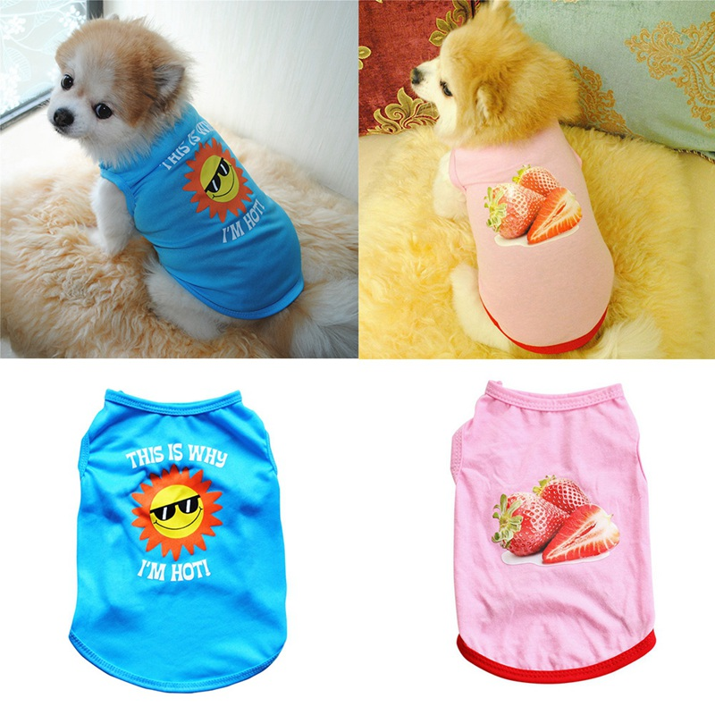 Summer Dog Clothes for Small Dog Clothing Pet Mesh Breathable Vest for Dogs Jacket Clothing for Chihuahua Pet Puppy Costume 15