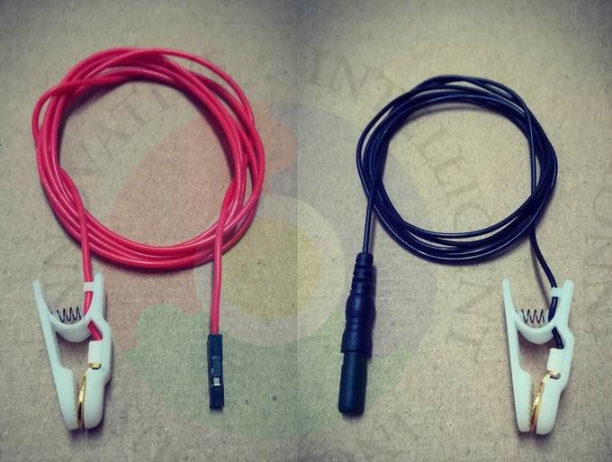 Расширенный ЭЭГ Электрический электрод для ушных зажимов, позолоченный электрод для ушных зажимов, подходит для ээг модуль, такой как OpenBCI|Детали и аксессуары для приборов|   | АлиЭкспресс