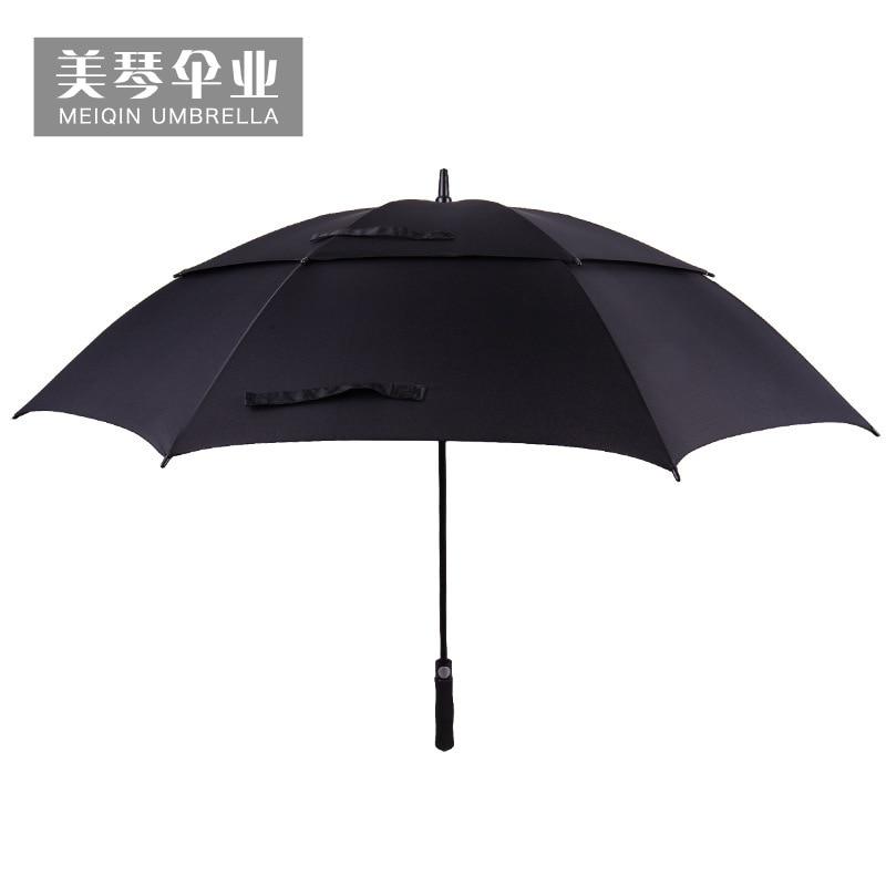 Golf Double-deck Umbrella Customizable High-End Gift Advertising Umbrella Carbon Fiber Umbrella Stand Umbrella