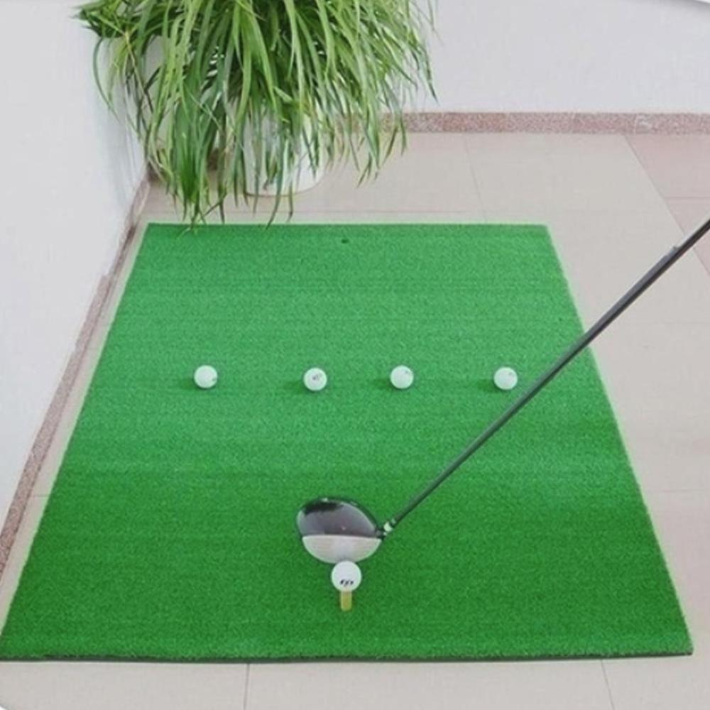 Golf Practice Mat Artificial Lawn Grass Foam Pad Green Backyard Tee Golf Hitting MatGolf Training Aids Outdoor Indoor Home Sport