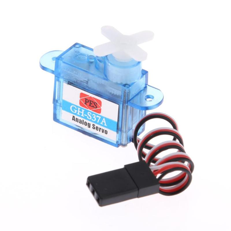 1pc 3.7G Tiny Micro Mini Plastic Gear Analog Servo For RC Airplane Toy Part