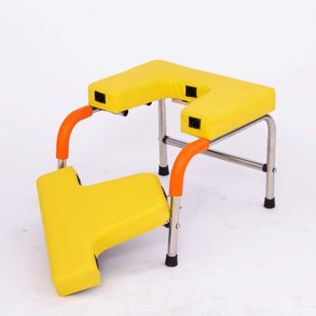 Inversion Yoga  Stainless Steel Upside Chair Gym Fitness Equipment Anti Gravity Building Training Machine Handstand machine