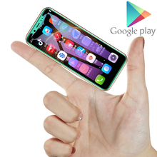 """K-TOUCH הקטן קטן סמארטפון סופר מיני אנדרואיד smartphone אנדרואיד 8.1 3.5 """"פנים מזהה טלפונים MTK6580 Quad Core נייד טלפון"""
