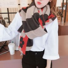 2019 Luxury Brand Neck Scarf Cashmere Wool Knitted Scarves Women Plaid Tassel Pashmina Shawls And Wraps Hijab Cachecol Bandana