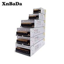 DC12V güç kaynağı 1A / 5A / 10A / 15A / 20A/ 25A / 30A / 40A / 60A anahtarı Transformers LED şerit için WS2812B WS2811 SK6812 WS28