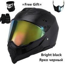 Adult BIKE BICYCLE motocross Off Road Helmet ATV Dirt bike Downhill MTB DH racin