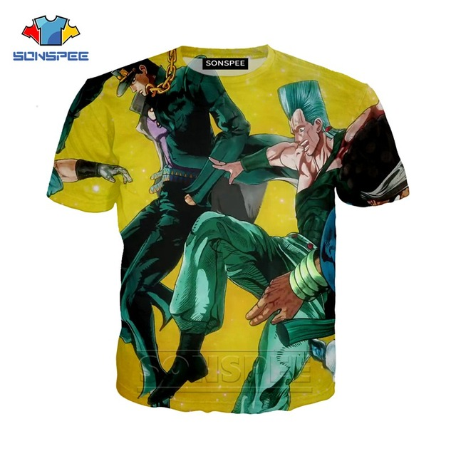 SONSPEE Summer Anime T-Shirt