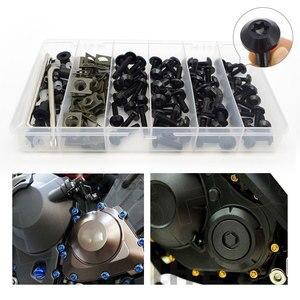 FOR BMW gs1200 f800gs k1600 k100 k1200lt k1200r k1200s k1600gtl k75 ninet R1200GS LC R100 Motorcycle Fasteners Screws Nuts Set