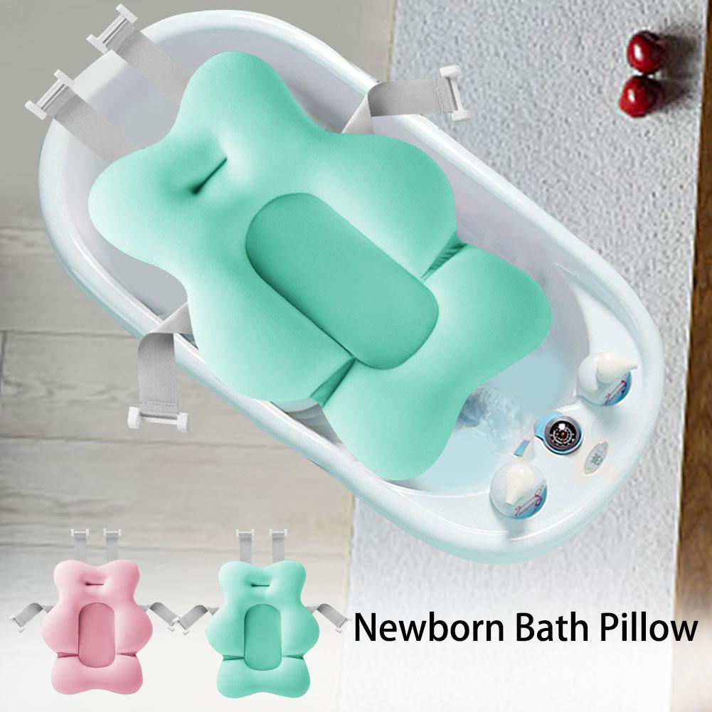 Newborn Bath Pillow Soft Baby Bath Pillow Supplies
